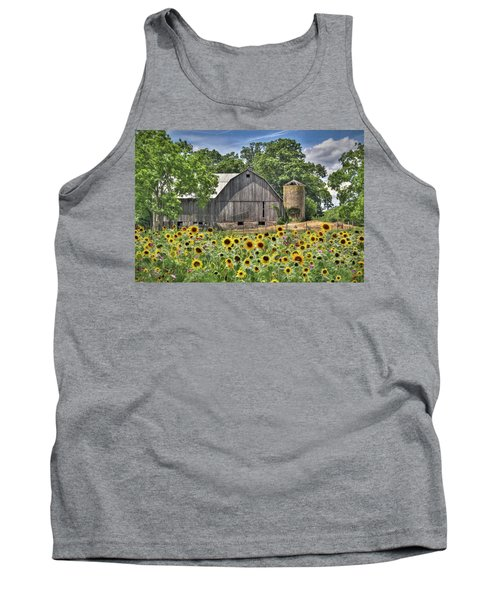 Country Sunflowers Tank Top