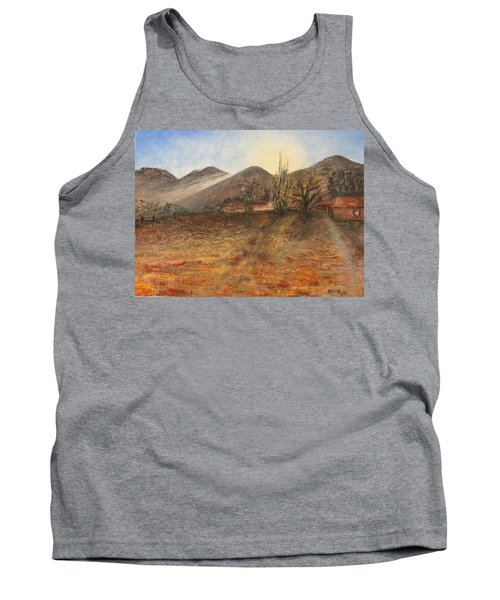 Country Sunset Tank Top