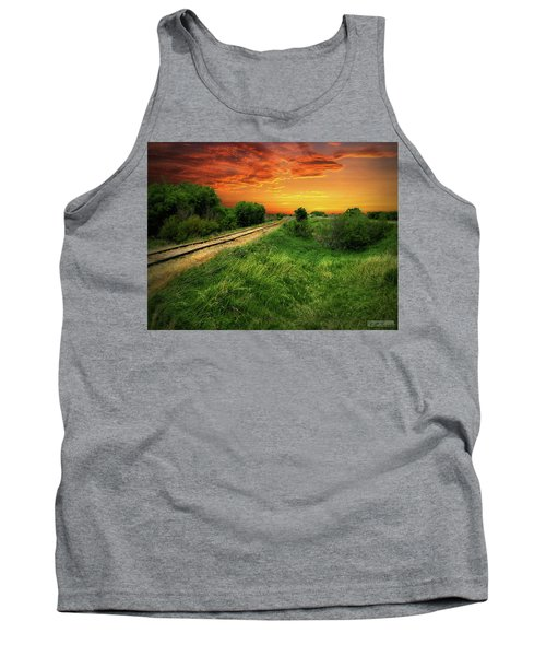 Country Tracks 2 Tank Top