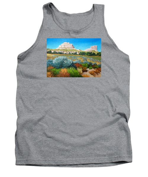 Courthouse And Jail Rocks 2 Tank Top