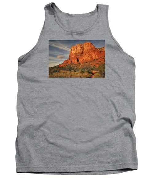 Courthouse Butte Txt Tank Top