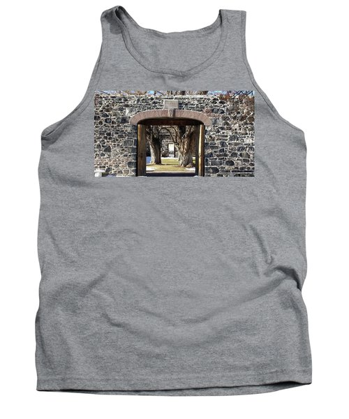 Cove Fort, Utah Tank Top by Cynthia Powell