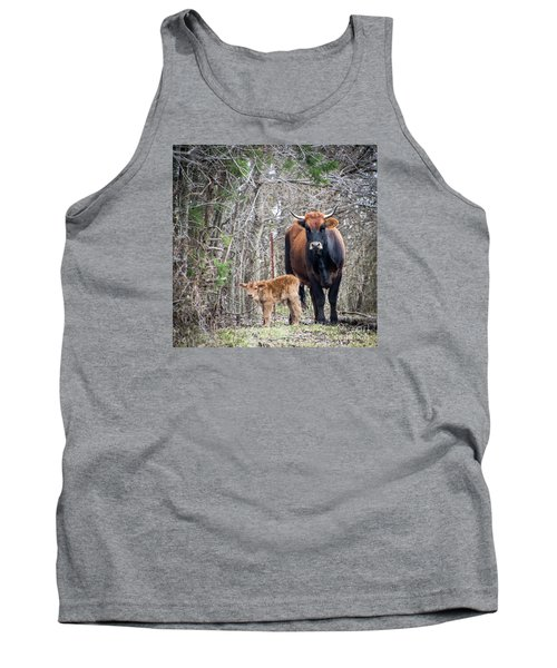 Cow And Calf Tank Top