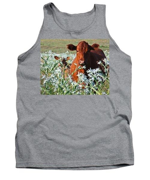 Cow Hide Tank Top
