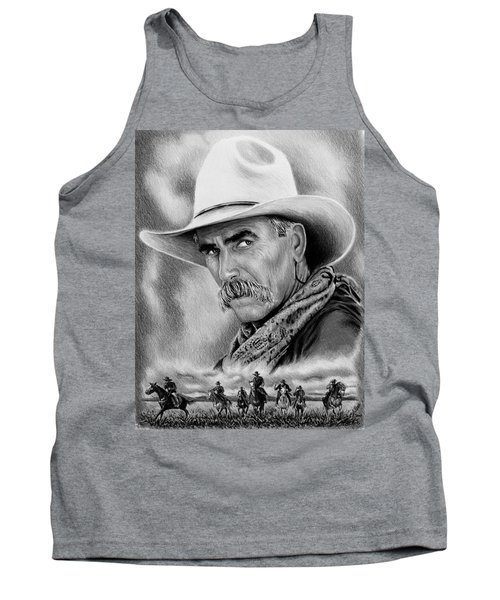 Cowboy Bw Tank Top