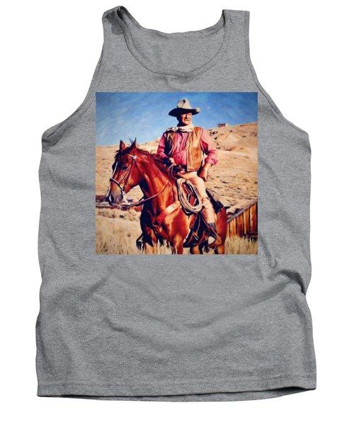 Cowboy John Wayne Tank Top