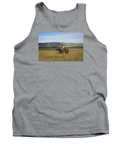 Cowboy Landscapes Tank Top