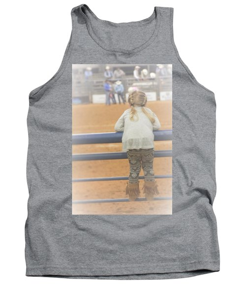Tank Top featuring the photograph Cowgirl Hatchling by John Glass