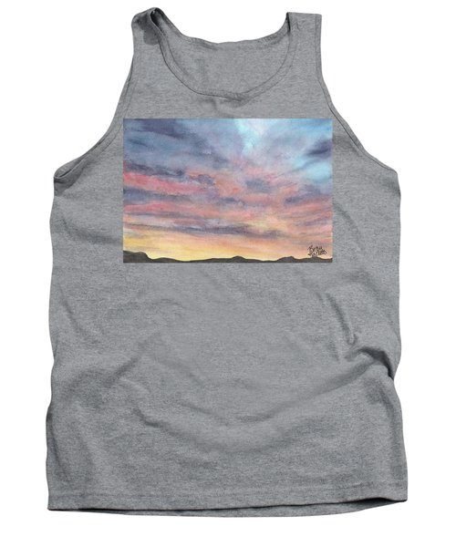 Coyote Sunset Tank Top