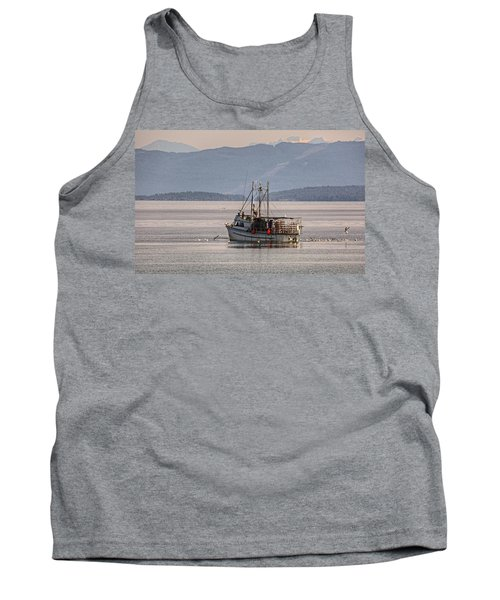 Crabbing Tank Top by Randy Hall