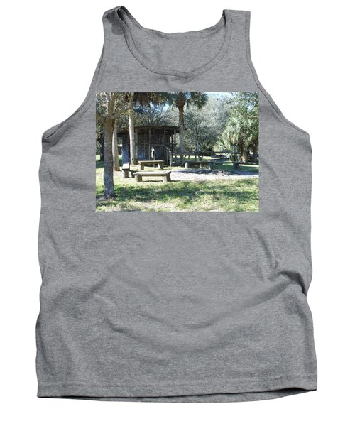Cracker Cow Hunter Shack Tank Top by Kay Gilley