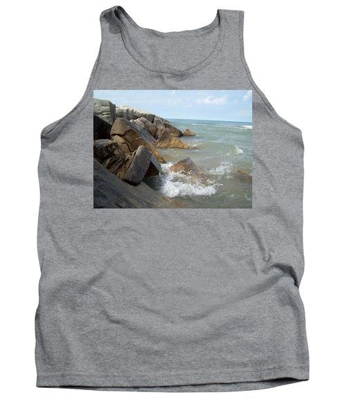 Crashing Beauty Tank Top