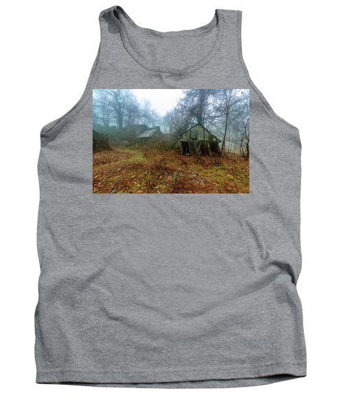 Creepy House Tank Top