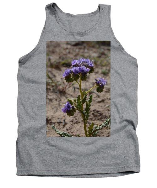 Tank Top featuring the photograph Crenulate Phacelia Flower by Jenessa Rahn