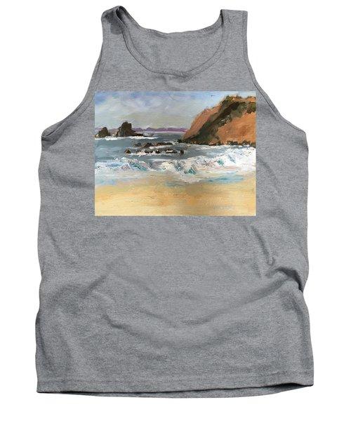 Crescent Beach At Laguna  Tank Top