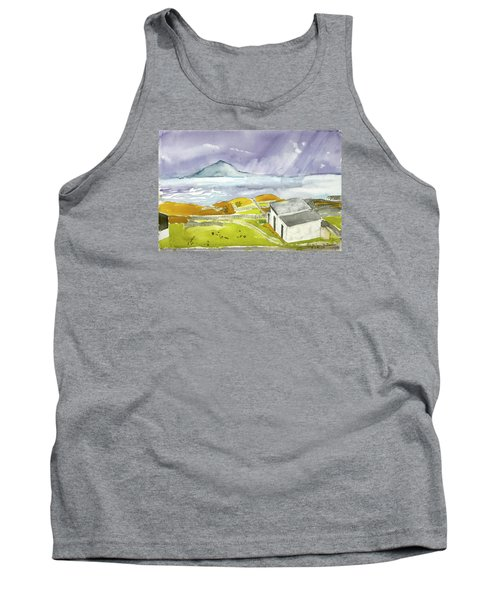 Croagh Patrick And Purple Sky Tank Top