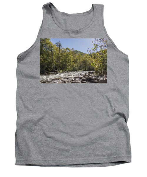Crooked Tree Curve Tank Top by Ricky Dean
