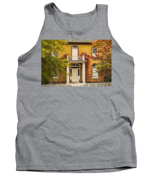 Crooked White Fence Tank Top