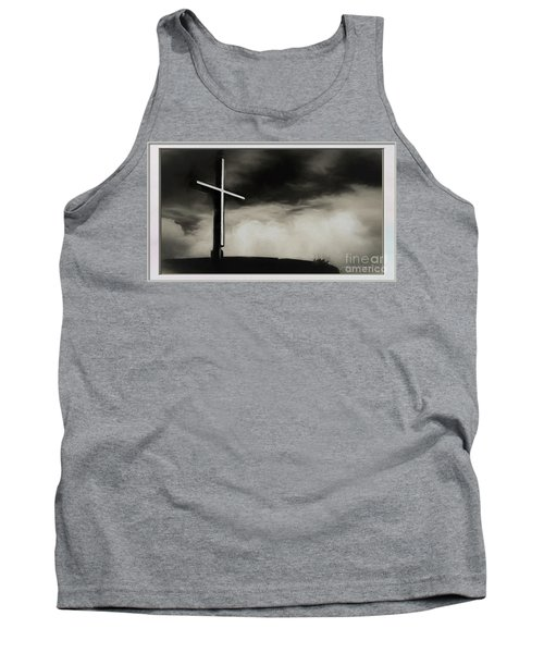 Cross On A Hill Tank Top