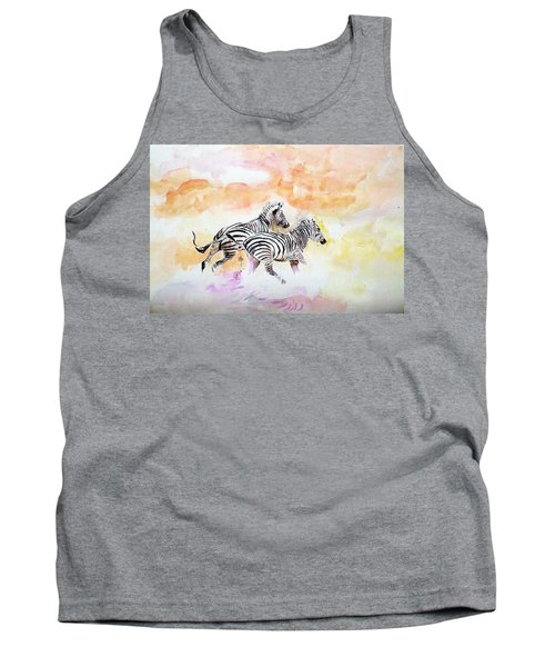 Crossing The River. Tank Top