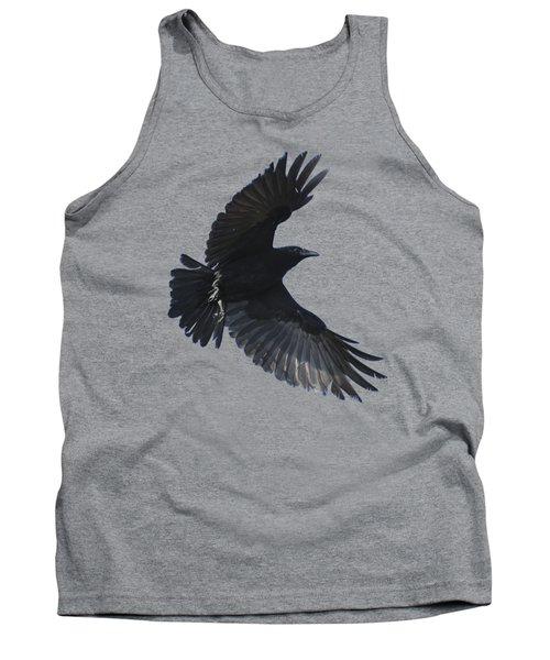 Crow In Flight Tank Top