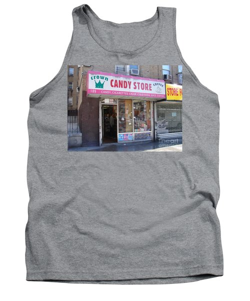 Tank Top featuring the photograph Crown Candy Store  by Cole Thompson