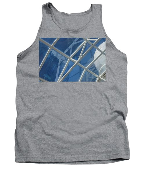 Cruise Ship Abstract Girders And Dome 2 Tank Top