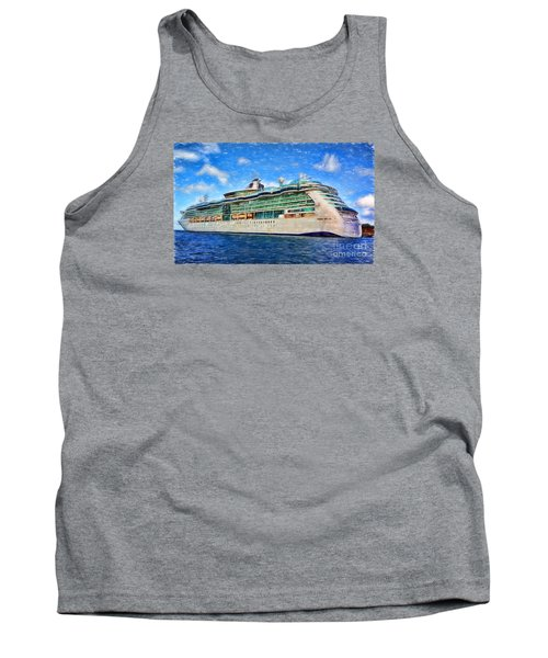 Tank Top featuring the photograph Cruising Thru Life by Sue Melvin