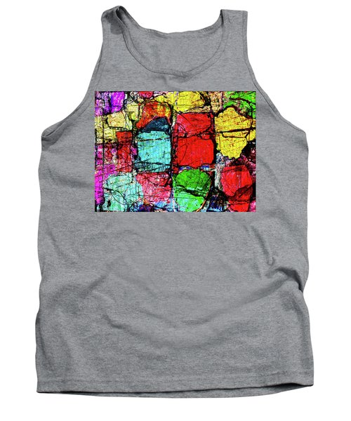 Crumbling Stone Wall Tank Top by Don Gradner