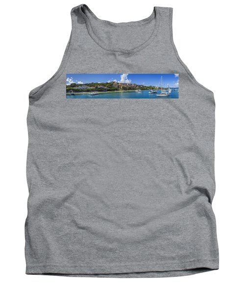 Tank Top featuring the photograph Cruz Bay, St. John by Adam Romanowicz