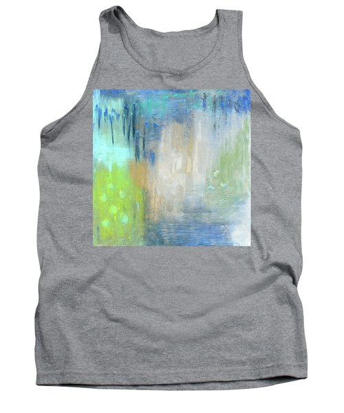 Tank Top featuring the painting Crystal Deep  by Michal Mitak Mahgerefteh