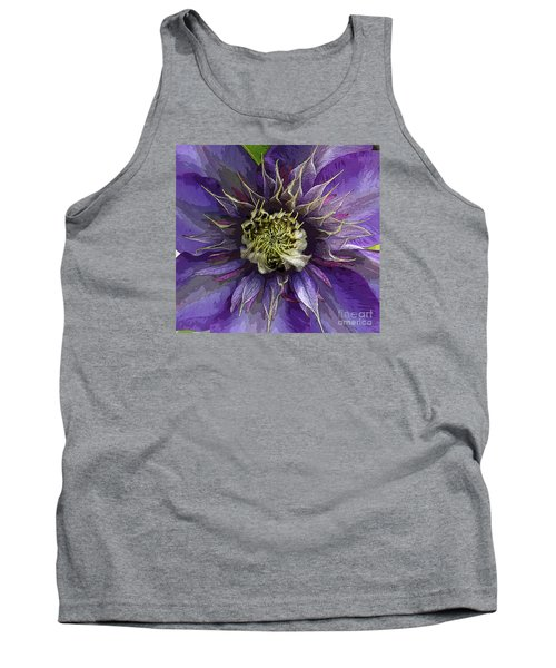 Tank Top featuring the photograph Crystal Fountain by Jeanette French