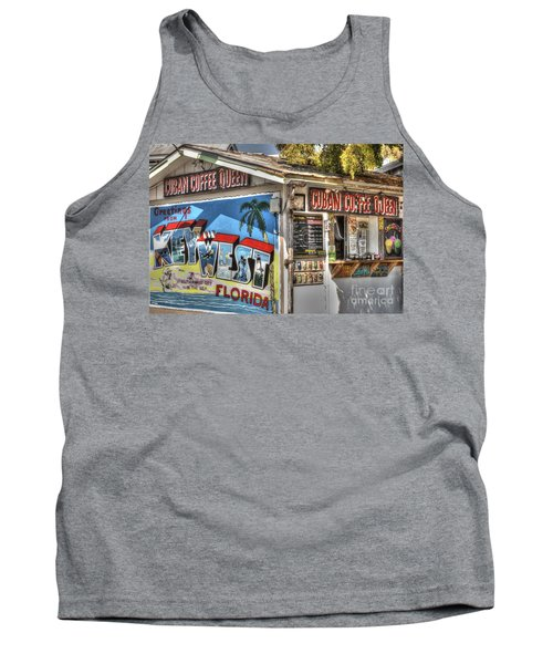 Cuban Coffee Queen Tank Top