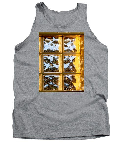 Tank Top featuring the photograph Cubed Sunset by Christopher Holmes
