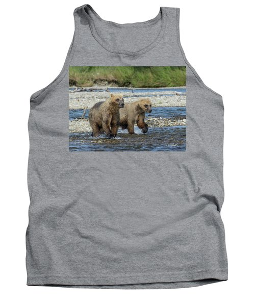 Cubs On The Prowl Tank Top