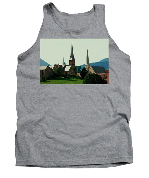Cumberands Steeples Tank Top by Eric Liller