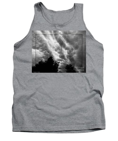 Cumulonimbus Clouds Over Cagliari Tank Top