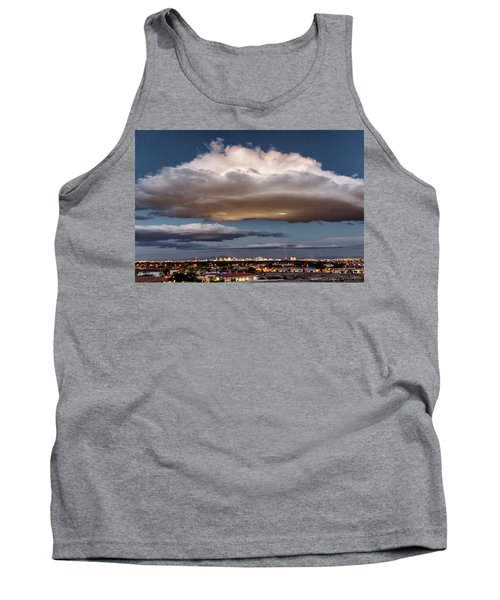 Tank Top featuring the photograph Cumulus Las Vegas by Michael Rogers