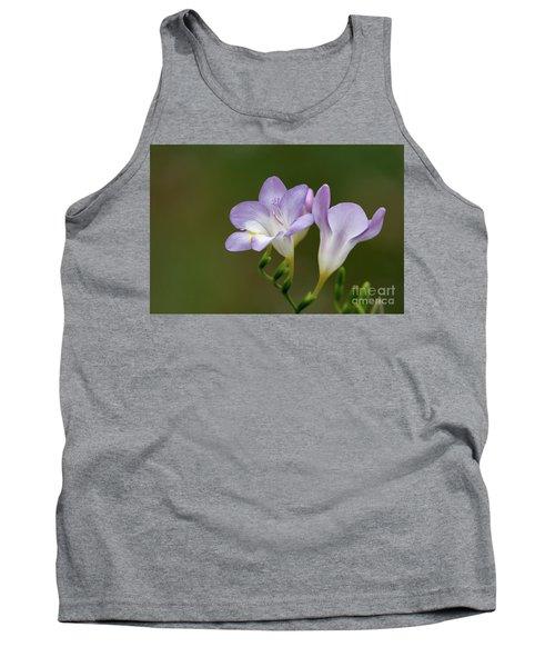 Cupertino Lavender Freesias Tank Top
