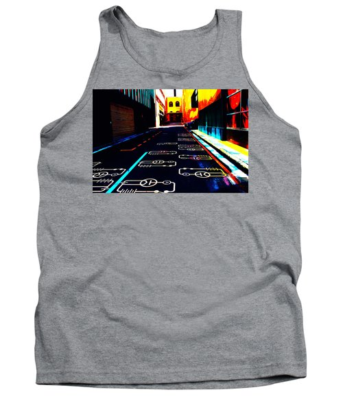 Curcuit City Tank Top