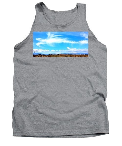 Dragon Cloud Over Suburbia Tank Top