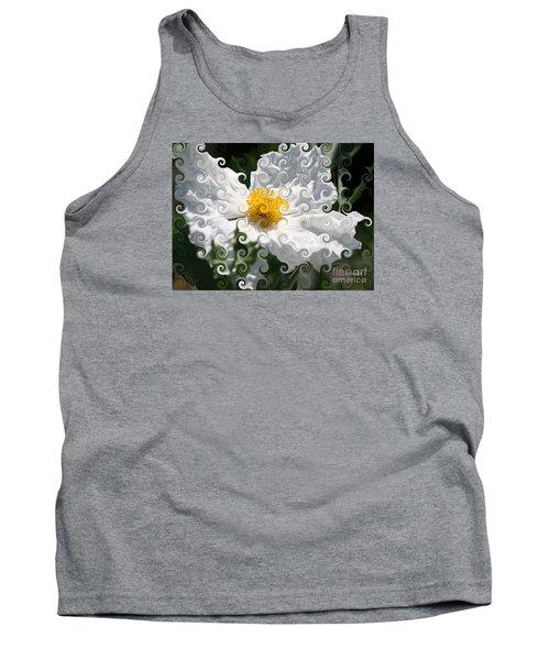 Curlicue Fantasy Bloom Tank Top