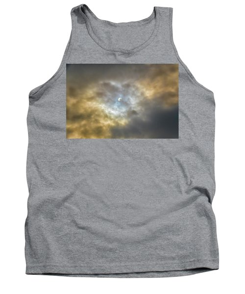 Curtain Of Clouds Eclipse Tank Top