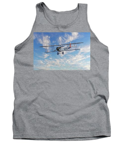 Curtiss Jn-4h Biplane Tank Top by Jerry Fornarotto