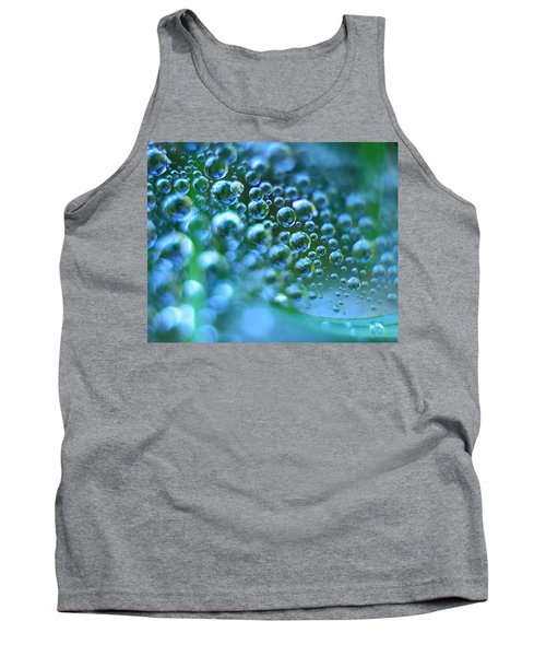 Curve Of The Web Tank Top