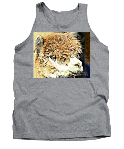 Soft And Shaggy Tank Top by Kathy M Krause