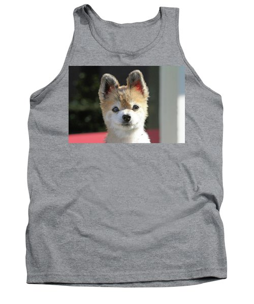Cute Stare Down Tank Top by Shoal Hollingsworth