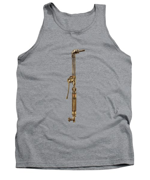 Cutting Torch Right Face Tank Top