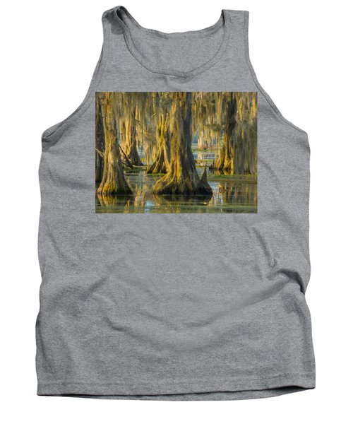 Cypress Canopy Uncovered Tank Top by Kimo Fernandez
