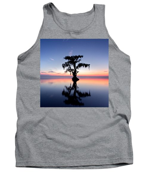 Tank Top featuring the photograph Cypress Tree by Evgeny Vasenev